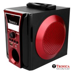 Tronica Wooden & Plastic Dual Color Durable Speaker