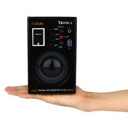 Tronica Mobilo Portable Speakers (Black/Grey)