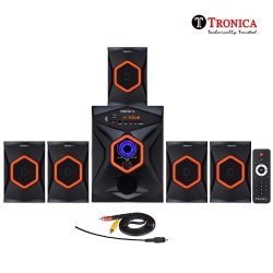 Tronica King Series 5.1 Bluetooth Multimedia Speakers with FM/PenDrive/Sd Card/Mobile/Aux Support