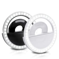 Tronica Selfie Ring Light with 36 LED Bulbs, Flash Lamp Clip Ring Lights Fill-in Lighting Portable for Phone/Tablet/iPad/Laptop Camera – (Colour May Vary)