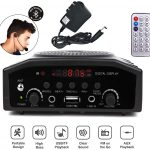 Tronica Bluetooth Rechargeable Multimedia Portable Digital Display Speaker