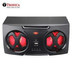 Tronica Photon Dual 5″ 2.0 Active Bookshelf FM Speakers – Supports Bluetooth/USB/Sd Card Reader (USB Type) & Mobile/pc/Laptop or Any Given aux Source