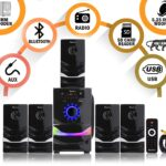 Tronica 70W BT2050 5.1 Home Theater with Bluetooth/FM/SD Card/Aux Support & Remote