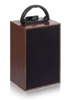 Tronica Ektaal Rechargeable Wooden Bluetooth Speaker with FM/Pendrive/Aux Support (4-5 Hours Battery Backup)