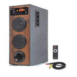Tronica DHWANI DJ 40W Bluetooth Tower Home Theater System with MIC/PenDrive/SD Card/FM/Aux/TV Support with Remote