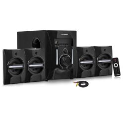Model H Bluetooth 4.1 Home Theater System with PenDrive/SD Card/LED/Aux/Tv Support & Remote