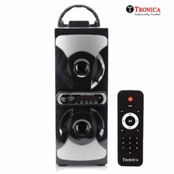 2.1 Castle Tower Home Audio by TRONICA with Bluetooth/PENDRIVE/LED TV/FM/MIC/AUX Support & All Function Remote